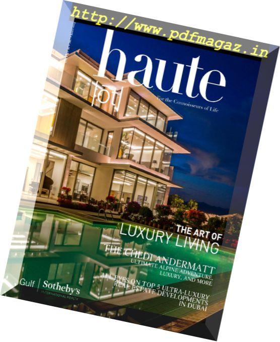 haute Magazine – March-April 2017