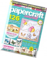 Papercraft Essentials - Issue 144, 2017