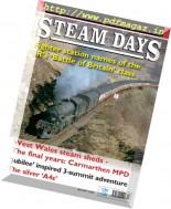 Steam Days - April 2017