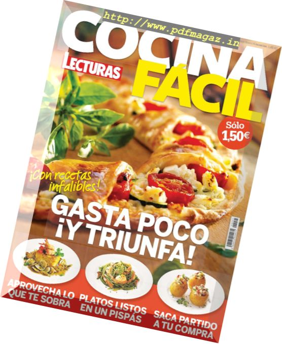 Download cocina facil lecturas marzo 2017 pdf magazine - Revista cocina facil lecturas ...