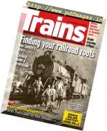 Trains - April 2017