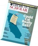 The American Scholar - Spring 2017