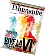 L'Humanite Dimanche - 16 au 22 Mars 2017
