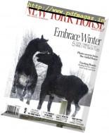 New York Horse - Winter 2016-2017