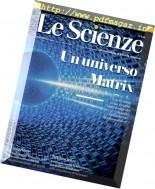 Le Scienze - Marzo 2017