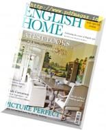 The English Home - April 2017
