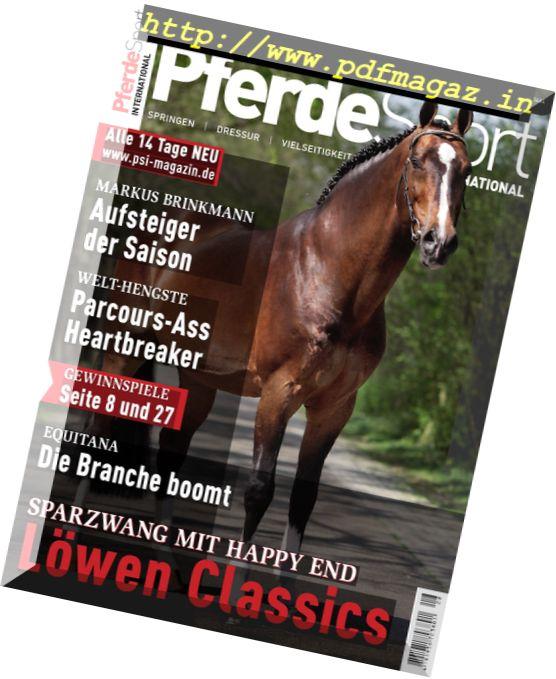Pferdesport International – 1 April 2017
