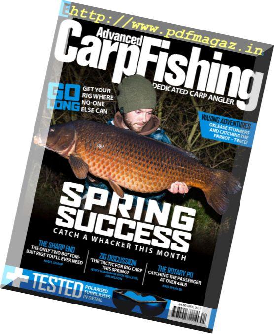 Advanced Carp Fishing – April 2017