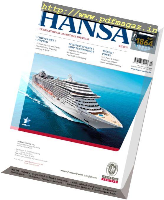 Hansa – Marz 2017