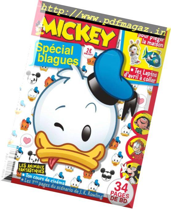 Le Journal de Mickey – 29 Mars 2017