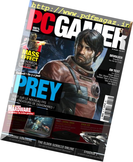 PC Gamer France – Avril-Mai 2017