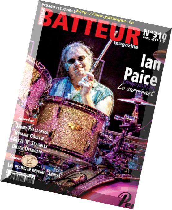 Batteur Magazine – Avril 2017