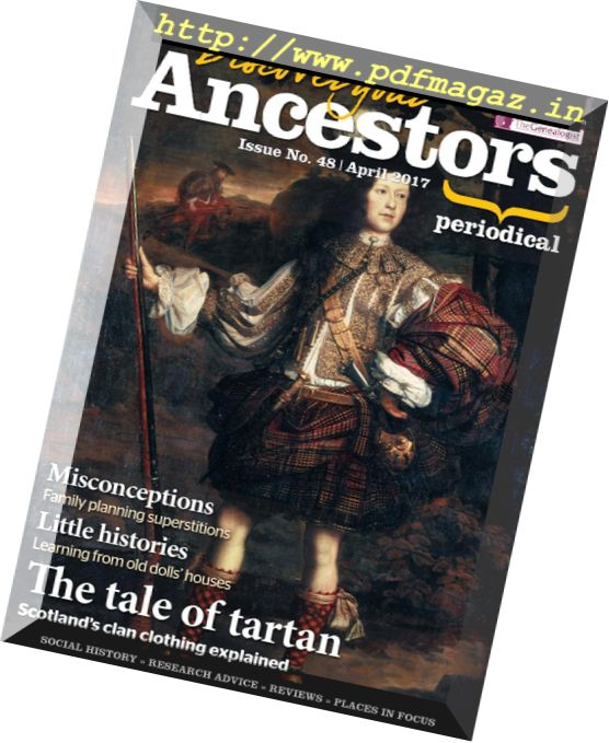 Discover Your Ancestors – April 2017