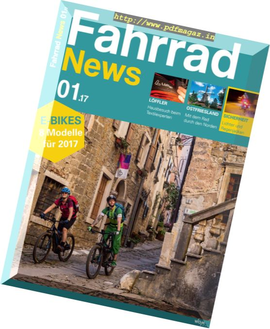Fahrrad News – Nr.1 2017