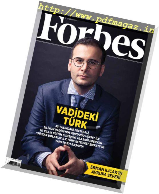 Forbes Turkey – Nisan 2017