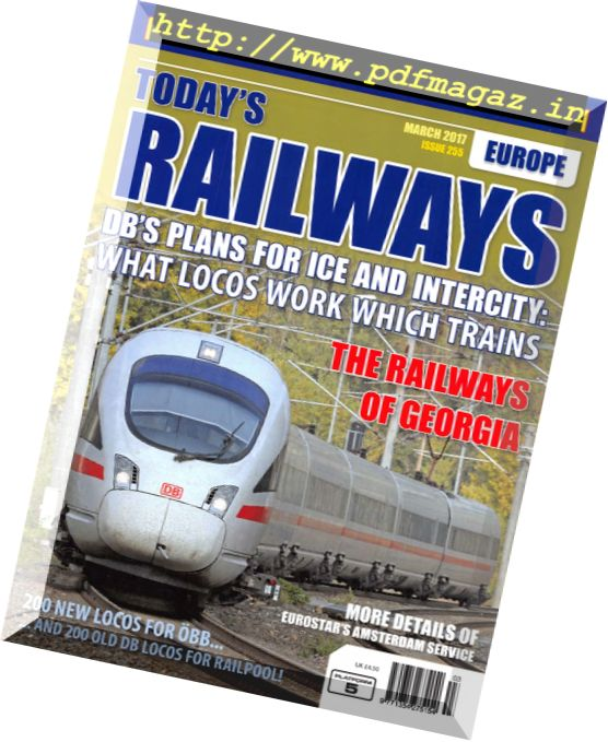 Todays Railways Europe – March 2017