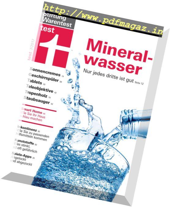 stiftung warentest mineralwasser - 556×679