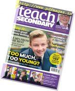 Teach Secondary – Volume 6 Issue 7 2017