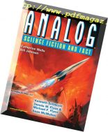 Analog Science Fiction and Fact – November-December 2017