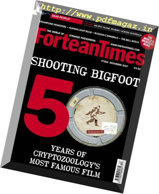Fortean Times – December 2017