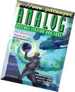 Analog Science Fiction and Fact – January-February 2018