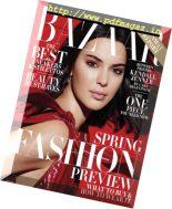 Harper's Bazaar USA – February 2018