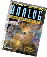 Analog Science Fiction and Fact – March-April 2018