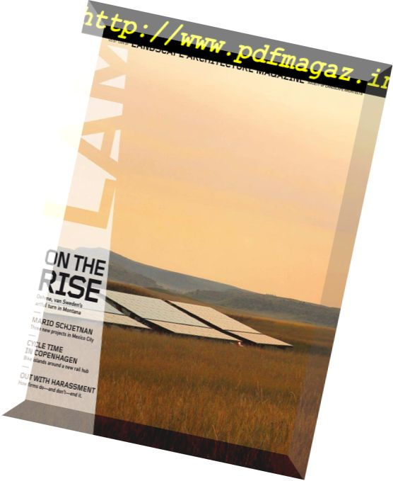 Landscape Architecture Magazine USA U2013 June 2018