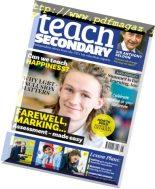Teach Secondary – July 2018