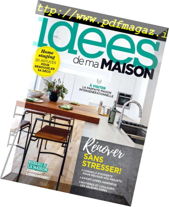 Download Les Idees De Ma Maison Septembre 2018 Pdf Magazine