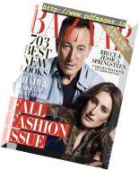 Harper's Bazaar USA – September 2018