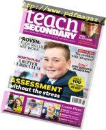 Teach Secondary – August 2018