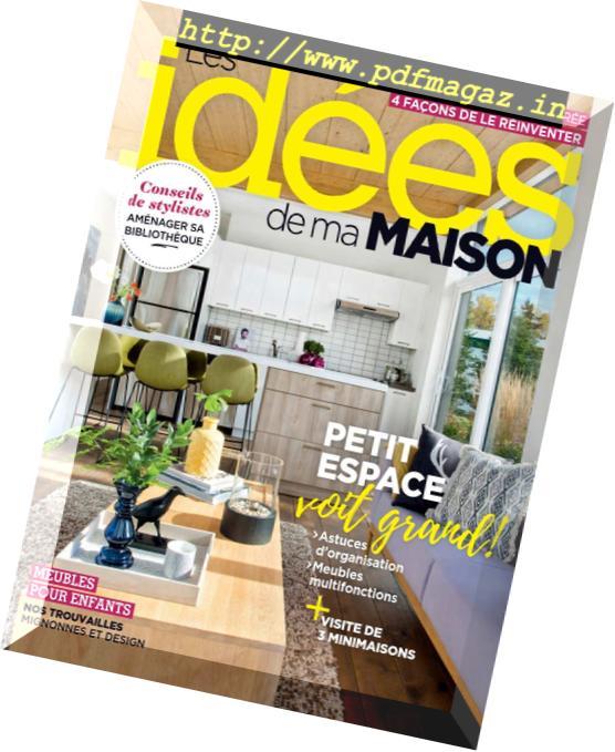 Download Les Idees De Ma Maison Octobre 2018 Pdf Magazine