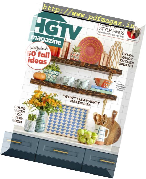 Download HGTV Magazine – October 2018 - PDF Magazine