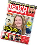Teach Secondary – October 2018