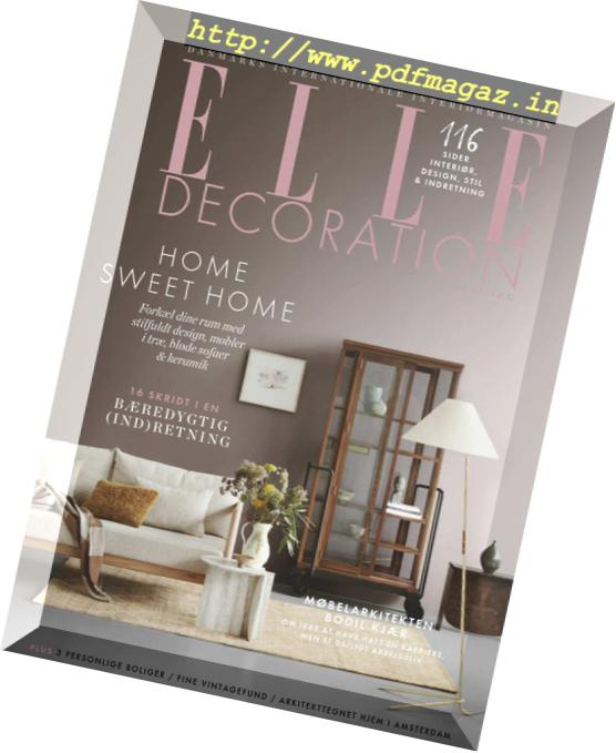 Download Elle Decoration Denmark September 2018 Pdf Magazine