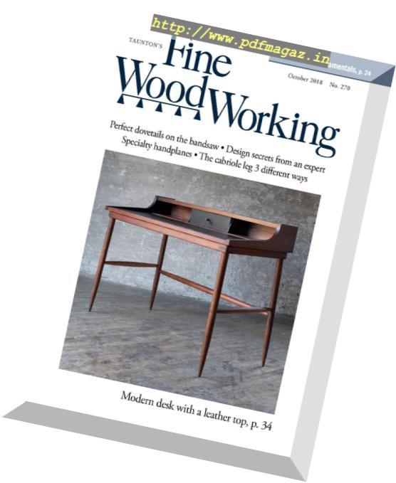 Download Fine Woodworking September October 2018 Pdf