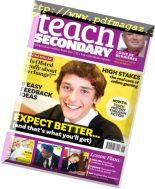 Teach Secondary – November 2018