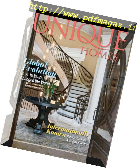 Unique Homes Magazine U2013 Global 2018