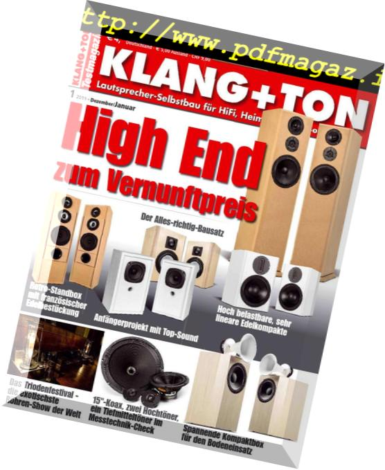 Download Klang & Ton – Dezember 2018 – Januar 2019 - PDF