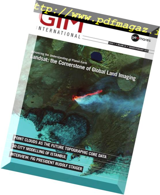 Download GIM International Magazine – January-February 2019