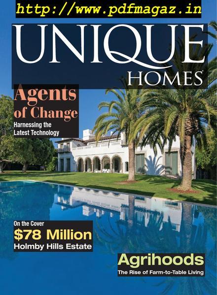 Unique Homes Magazine U2013 Spring 2019