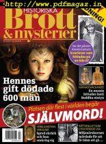 Historiska Brott & Mysterier – april 2017