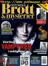 Historiska Brott & Mysterier – april 2019