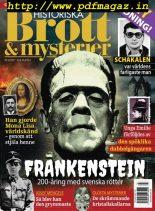 Historiska Brott & Mysterier – oktober 2017