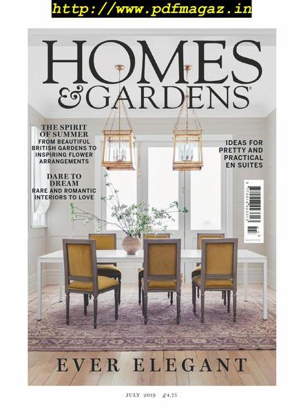 Download Homes Gardens Uk July 2019 Pdf Magazine