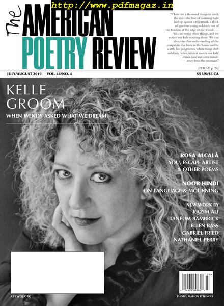 Download The American Poetry Review – July-August 2019 - PDF
