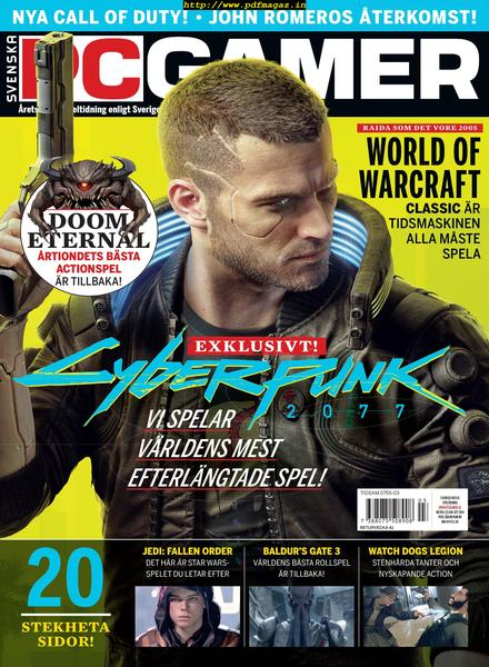 Download Svenska PC Gamer – 01 augusti 2019 - PDF Magazine