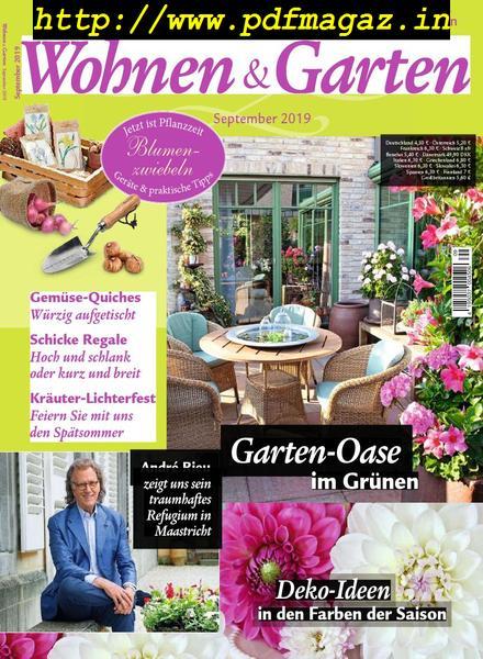 Download Wohnen Garten September 2019 Pdf Magazine