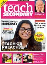 Teach Secondary – September 2019